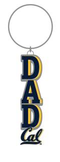 "Cal Bears Dad 2"" Campus Keytag"