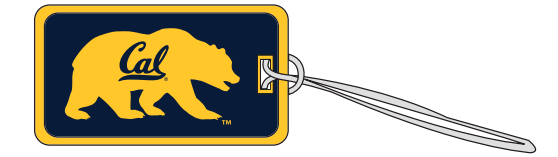 Cal Bears Embroidered Luggage Tag
