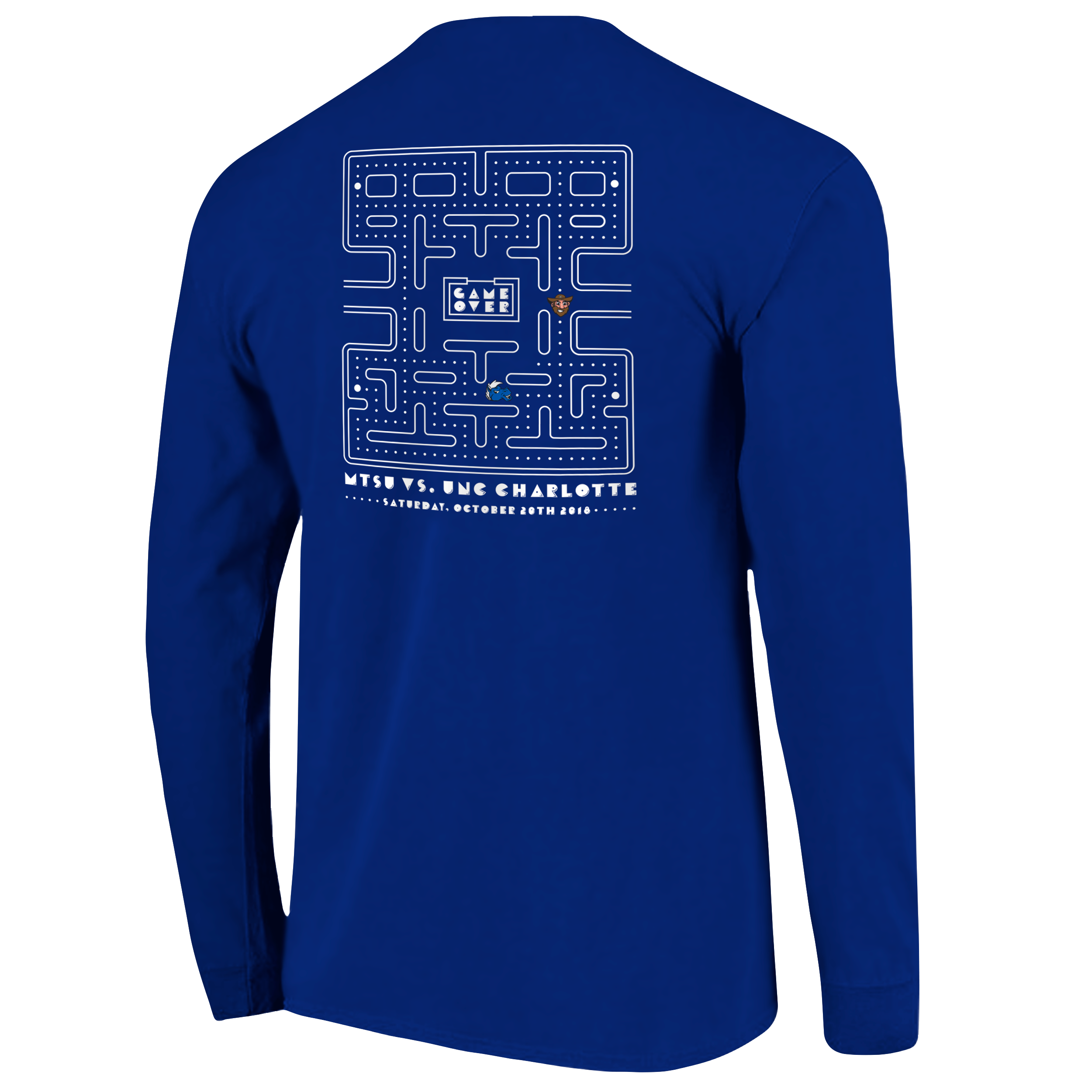 MTSU 2018 Homecoming Long Sleeve Shirt