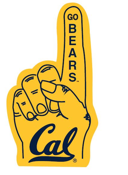 Cal Bears Mini Foam Finger