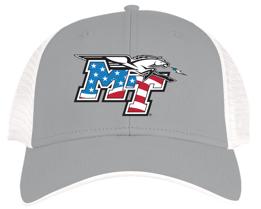 MT Patriotic Logo Trucker Snapback