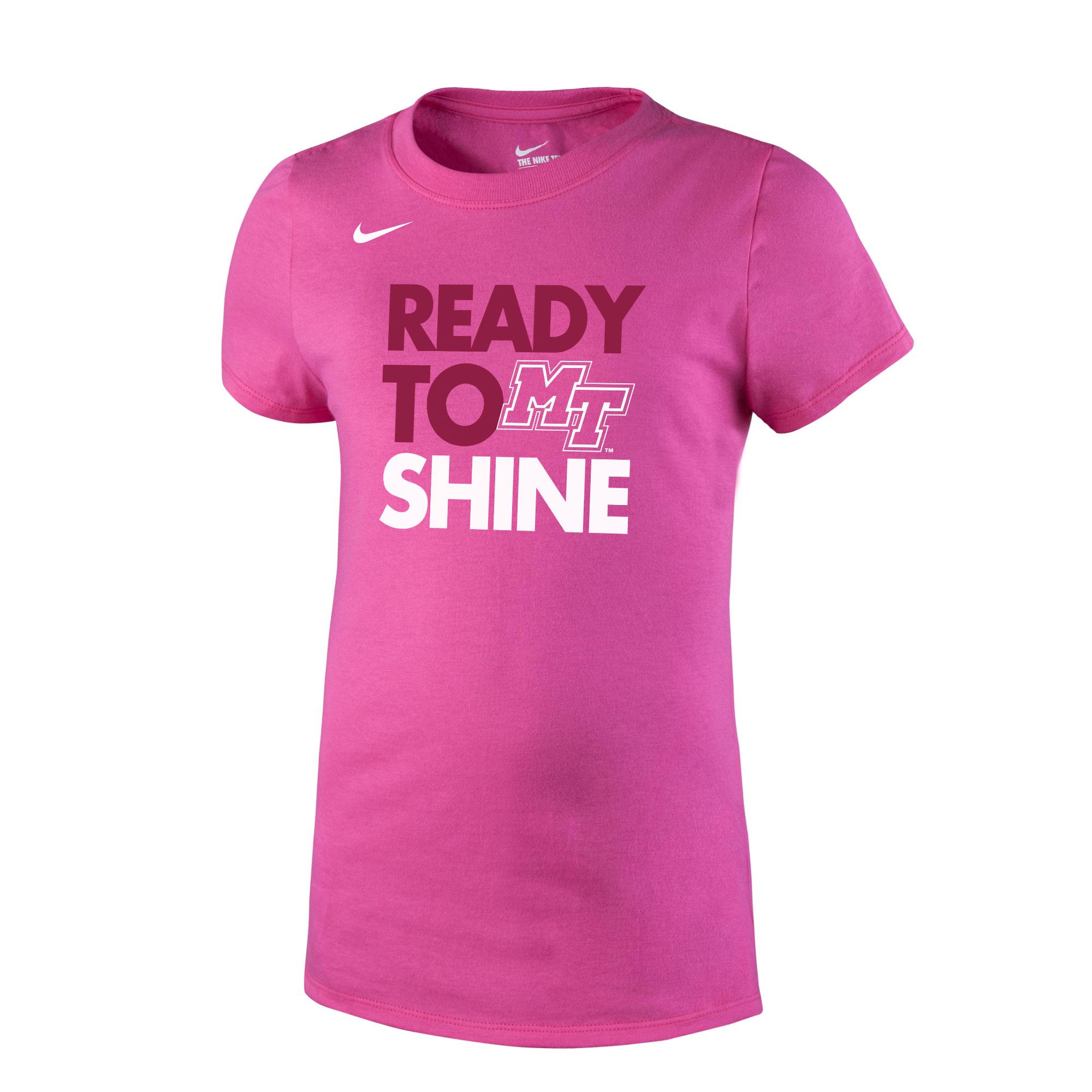 Youth Ready to Shine Girls Core Nike® Shirt