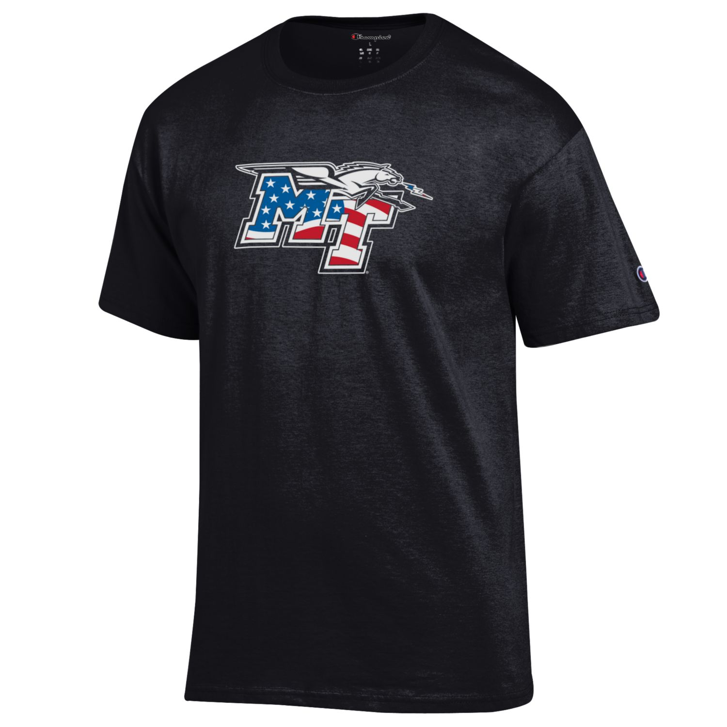 MT Logo w/ Lightning Patriotic Shirt