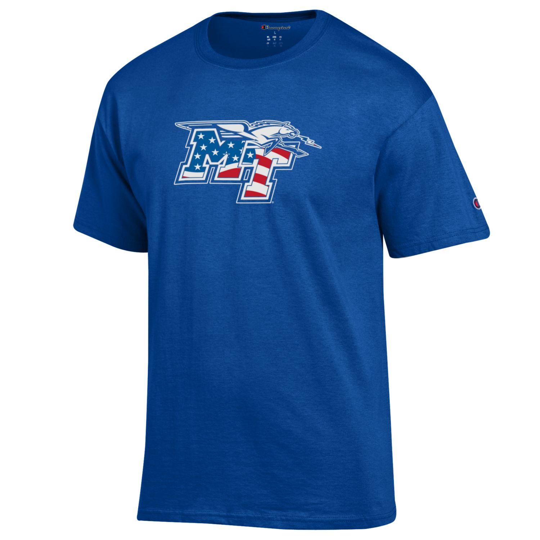 MT Logo w/ Lightning Patriotic Shirt