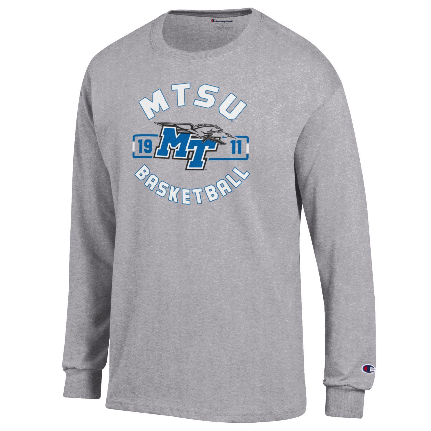 MTSU 1911 Basketball Long Sleeve Shirt
