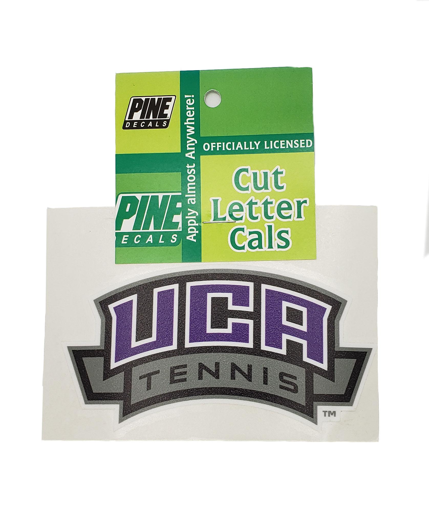 UCA Tennis Decal