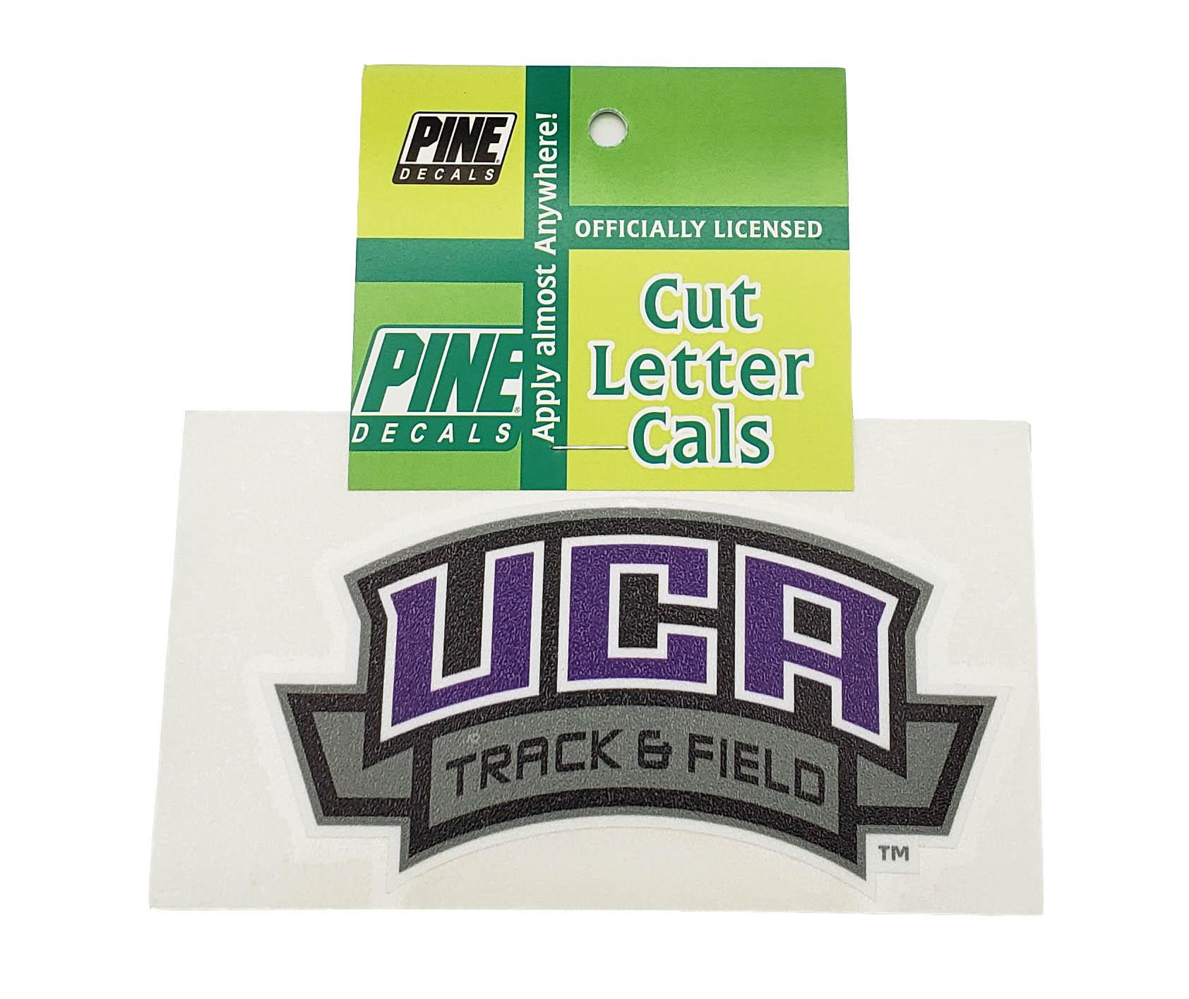 UCA Track & Field Decal