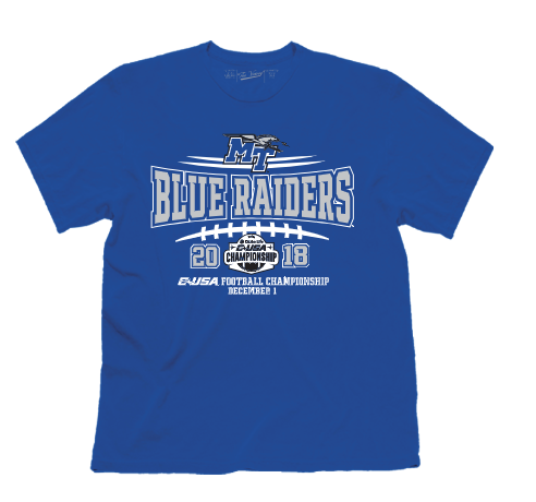 Blue Raiders C-USA Championship Game Tshirt