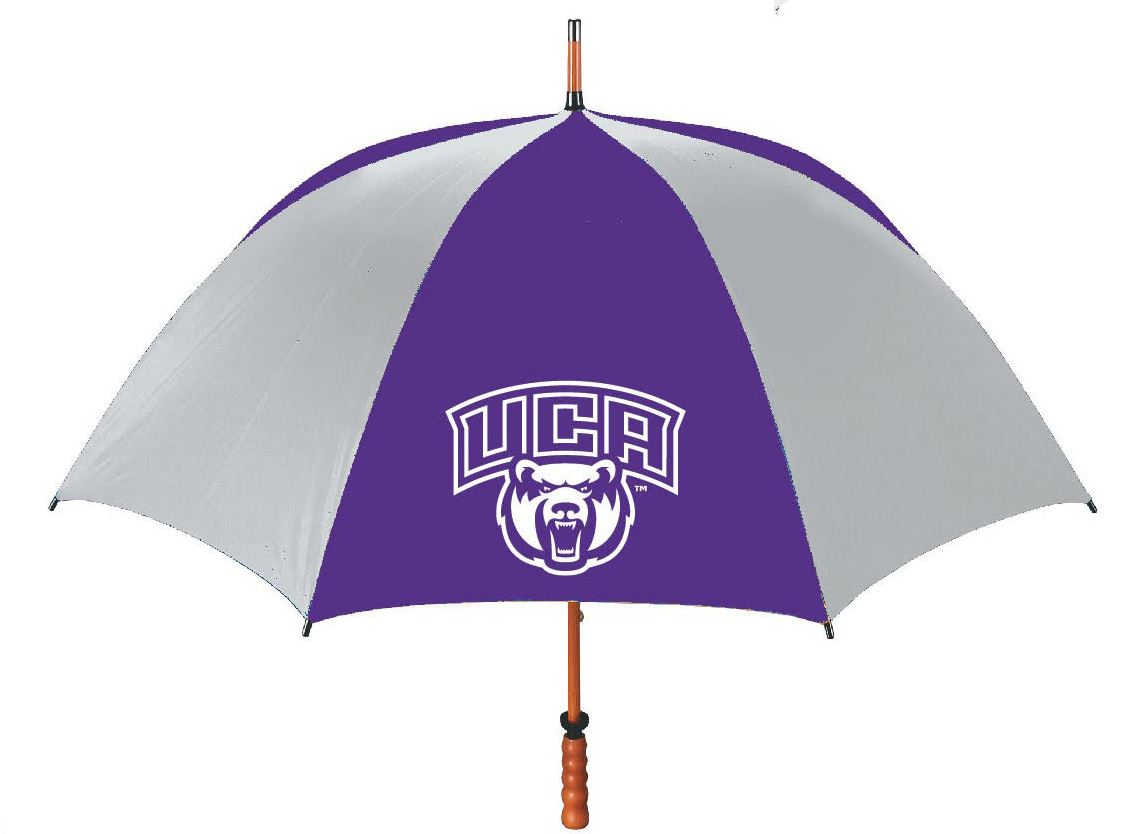 Large Umbrella w/ Wooden Handle