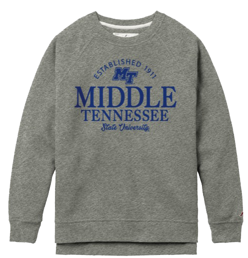 Middle Tennessee State University Women's Academy Crew Sweatshirt