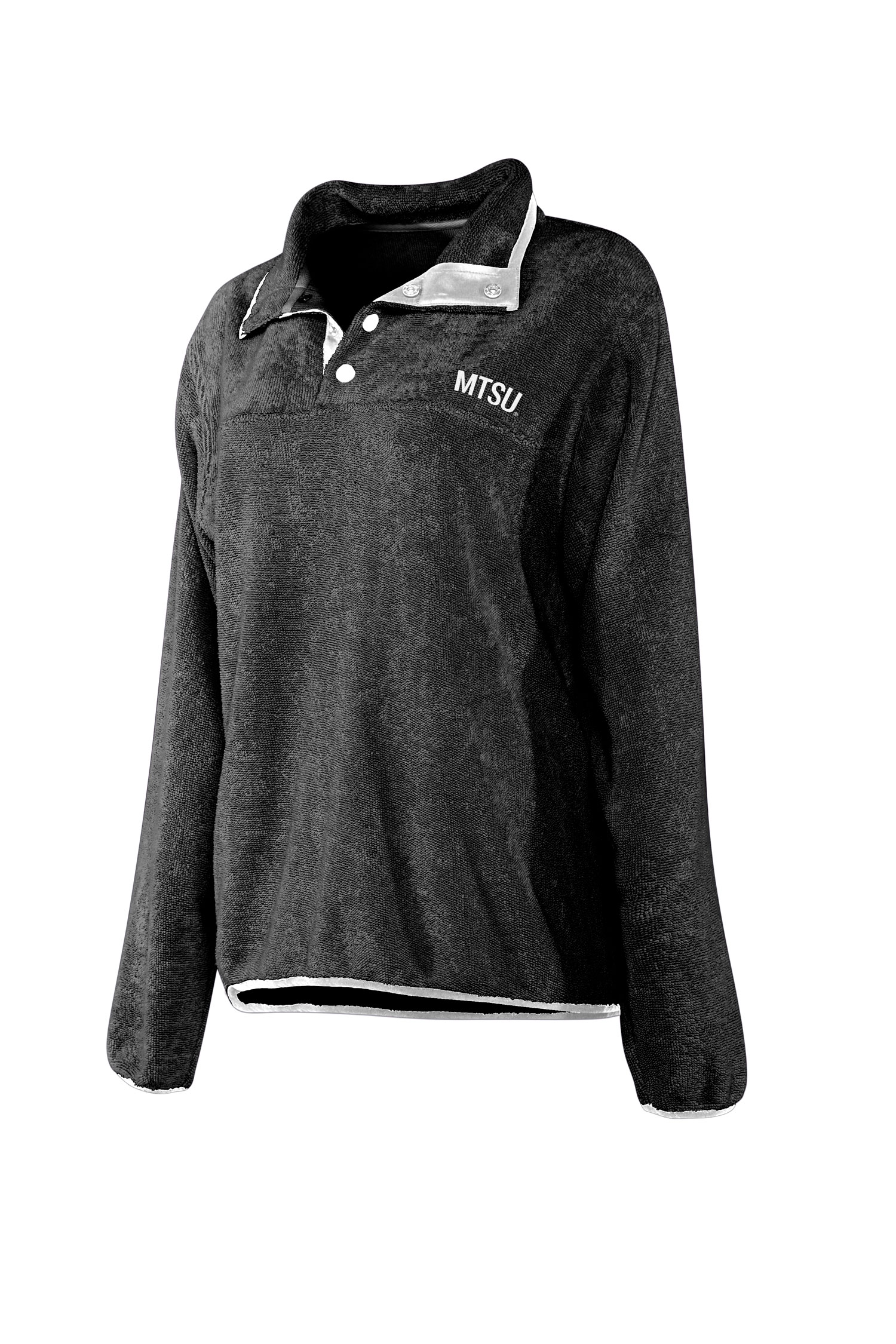 MTSU Looped Terry Snap Pullover