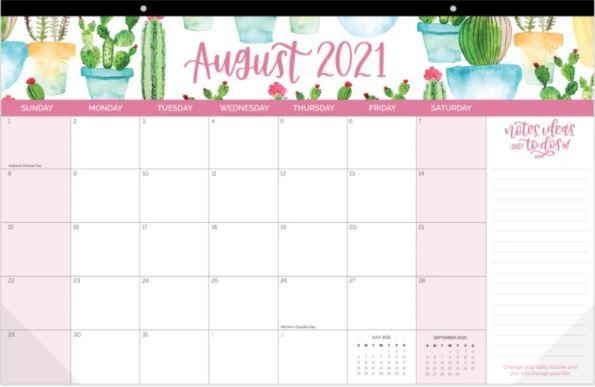 "2021-22 Academic Desk & Wall Calendar, 11"" x 17"""