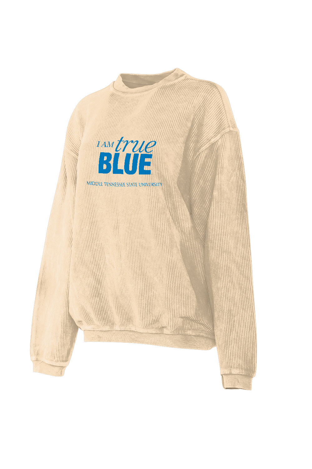 I Am True Blue Women's Corded Sweatshirt
