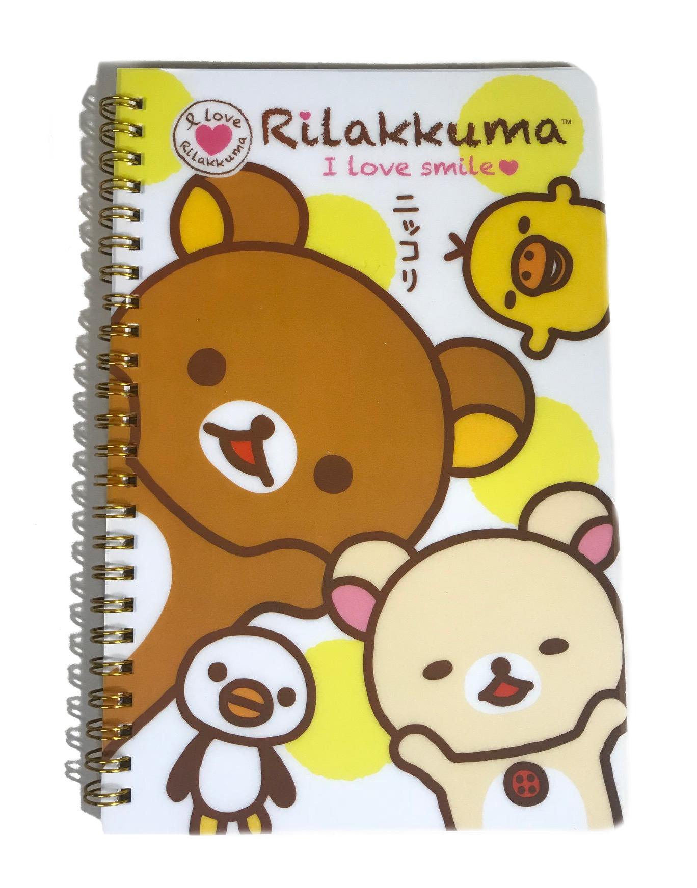 Cal Bears Rilakkuma Ringbound Notebook