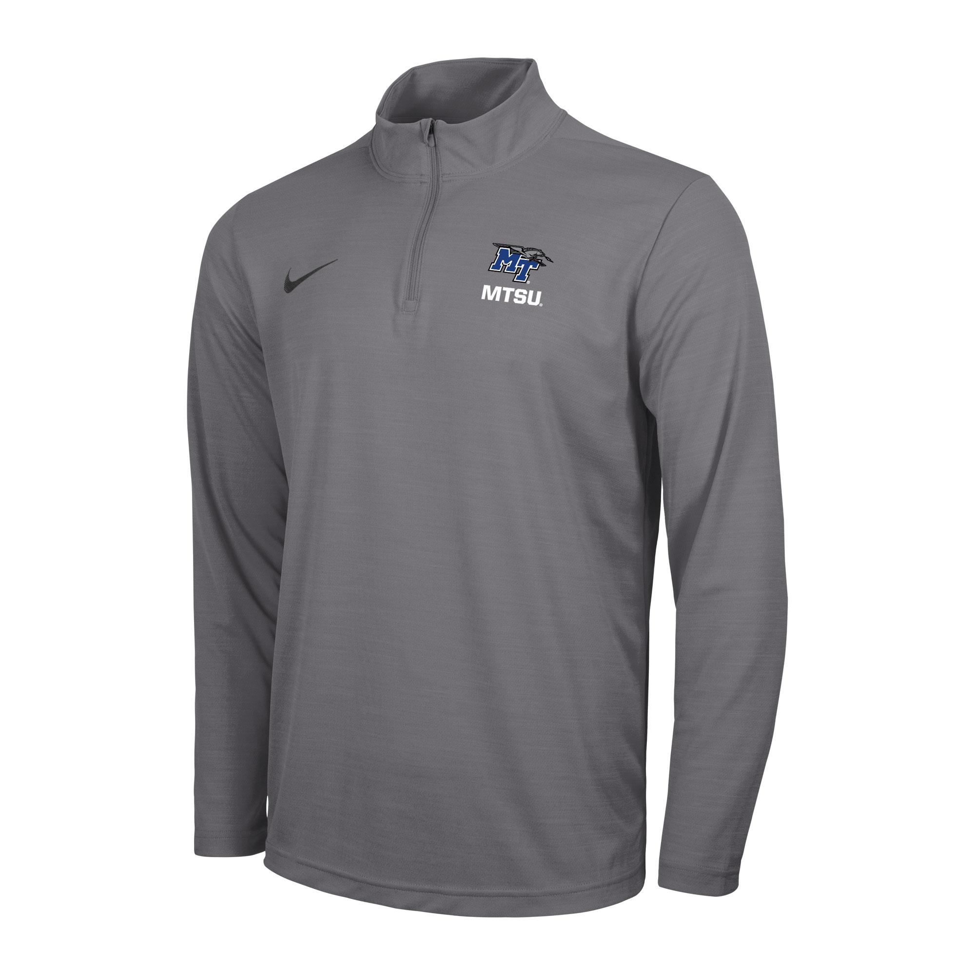 MT Logo w/ Lightning MTSU Intensity Nike® 1/4 Zip Top Pullover