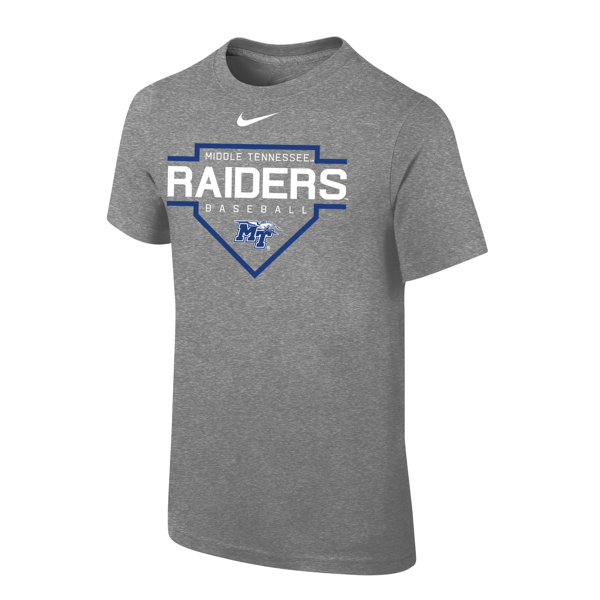 Youth Middle Tennessee Raiders Baseball Nike® Core Shirt
