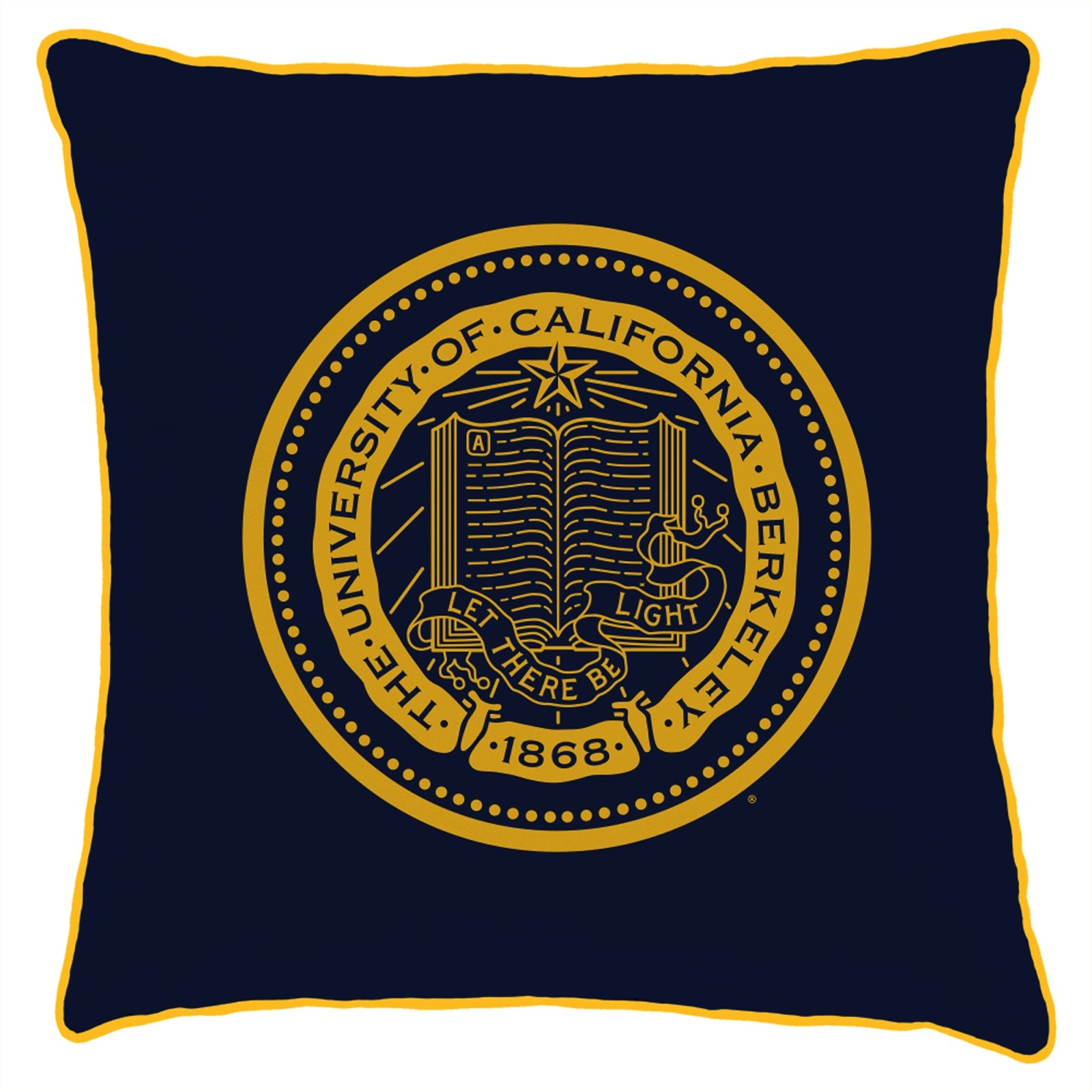 Cal Bears Spirit Pillow Berkeley Seal (22 x 22)
