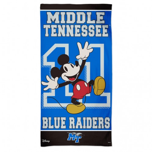 "Middle Tennessee Blue Raiders Disney Spectra Beach Towel 30"" x 60"""