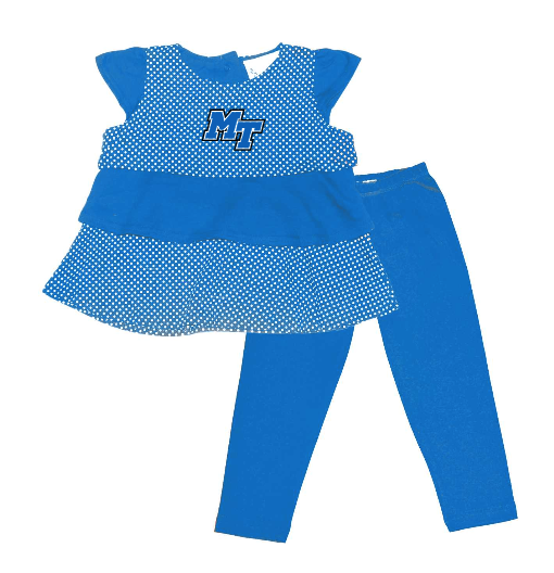MT Logo Infant Ruffle Shirt & Pant Set