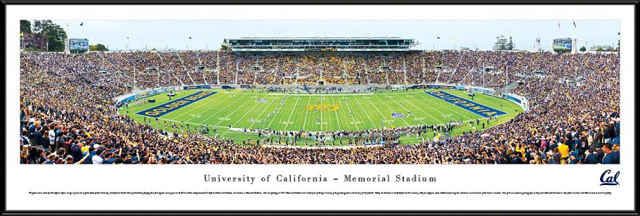 University of California Berkeley Panorama Standard Frame