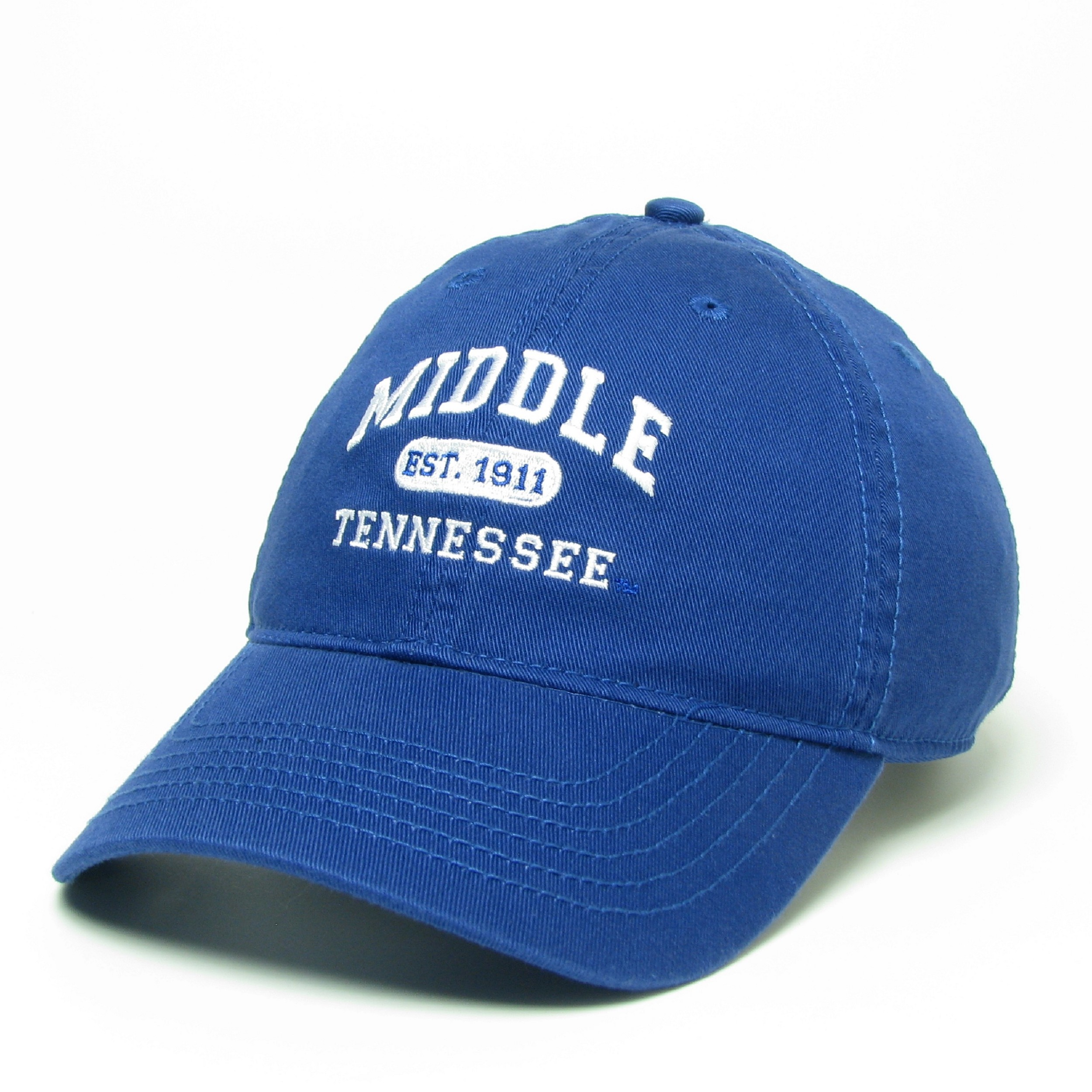 Middle Tennessee Arched Est. 1911 Relaxed Twill Hat