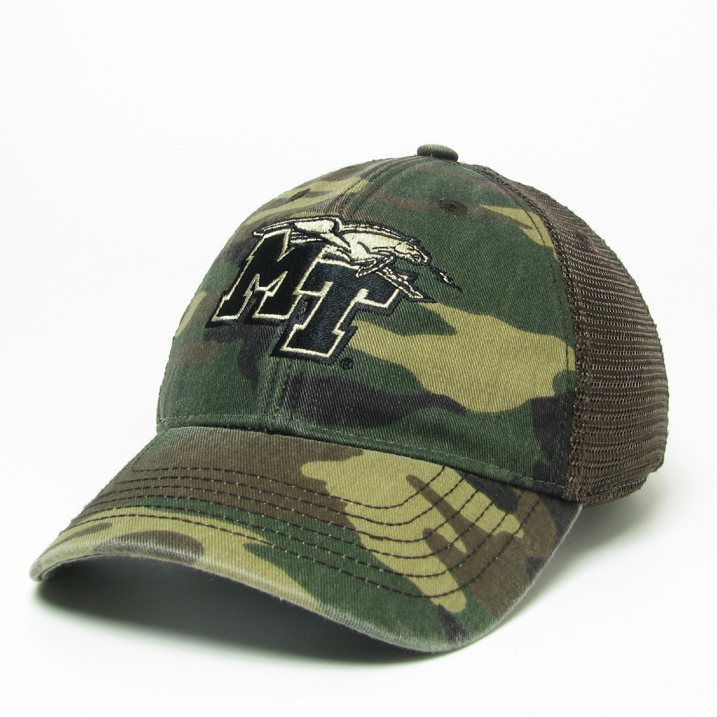 MT Logo w/ Lightning Army Camo Trucker