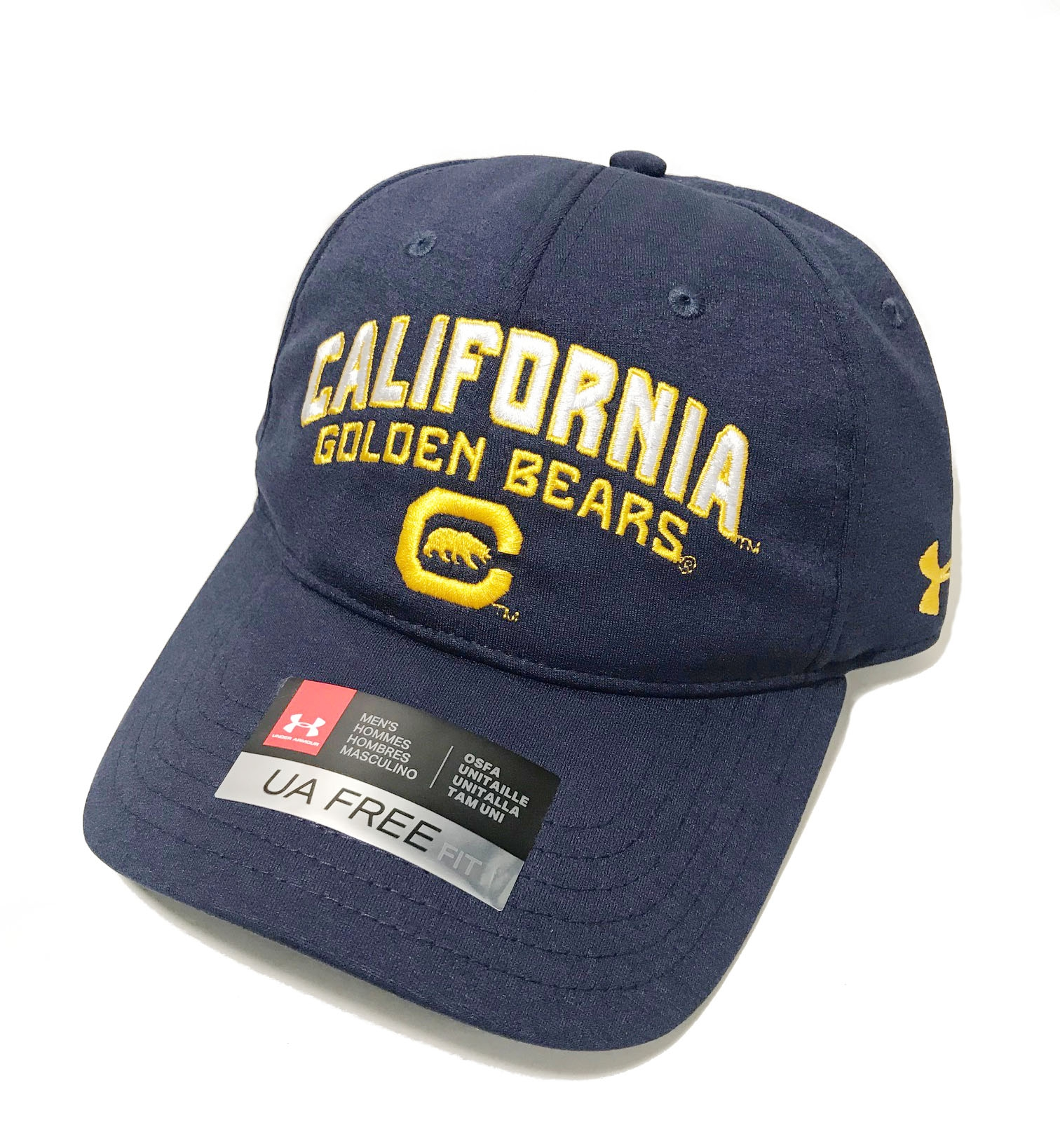 Cal Student Store  Cal Bears Under Armour Men s Closer Adjustable Hat 2856f26dd71