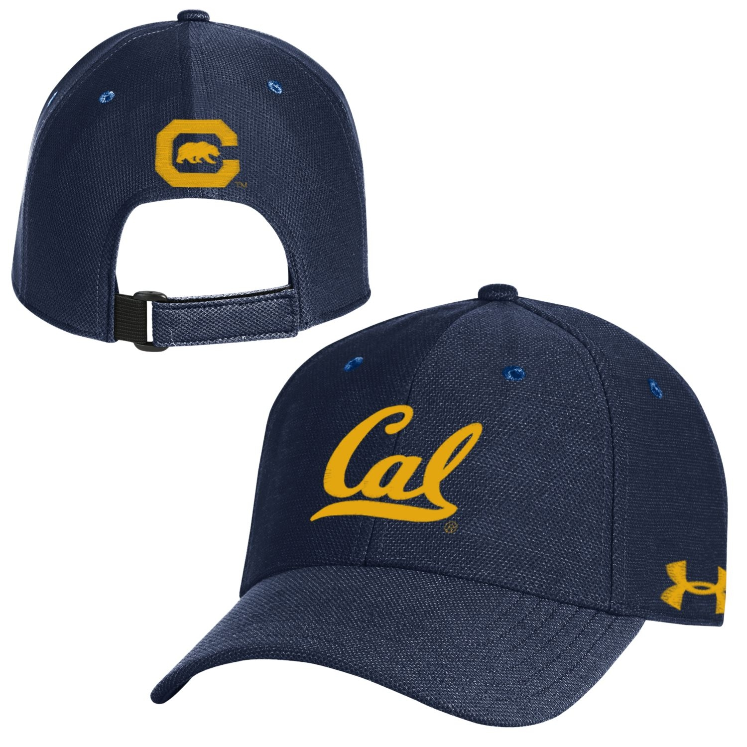 Cal Bears Under Armour Men's Blitzing Adjustable 3.0 Cap