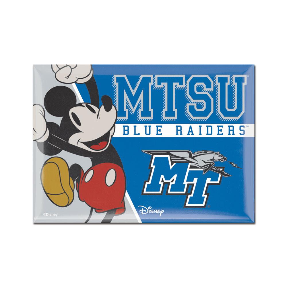 "MTSU Blue Raiders Disney Magnet 2.5"" x 3.5"""