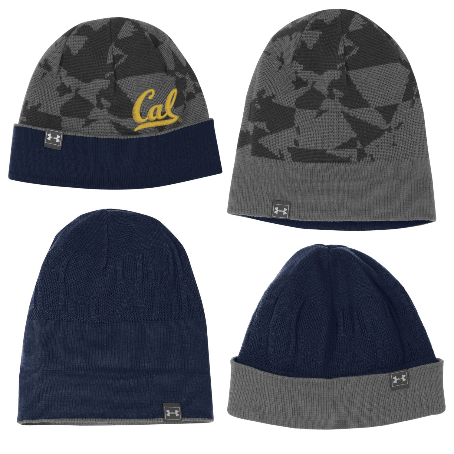 Cal Bears Under Armour Men's 4 in 1 Freestyle Beanie