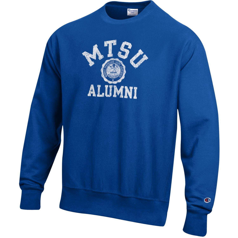 MTSU Alumni Seal Reverse Weave Crewneck Sweatshirt