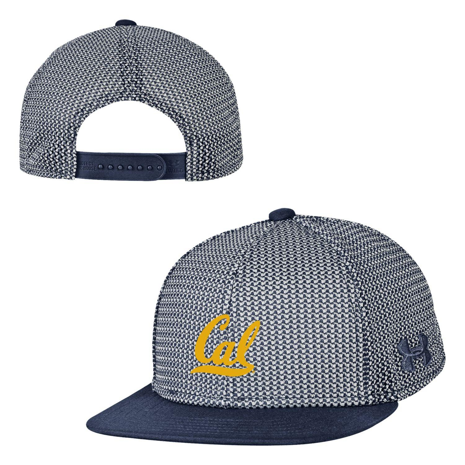 University of California Berkeley Under Armour Boys Mesh Knit Snapback