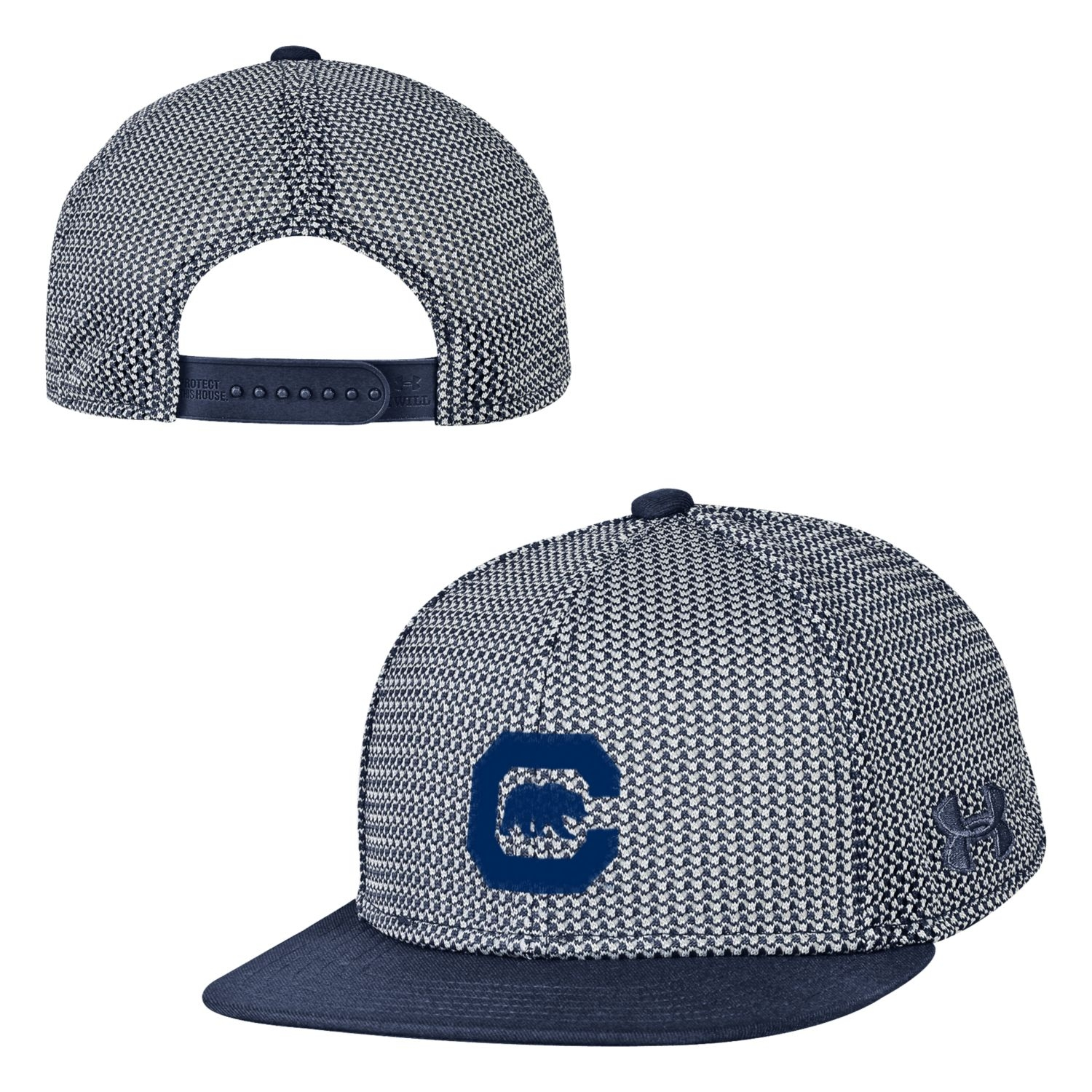 Cal Student Store  University of California Berkeley Under Armour Youth  Mesh Snapback Cap 780b8683a58