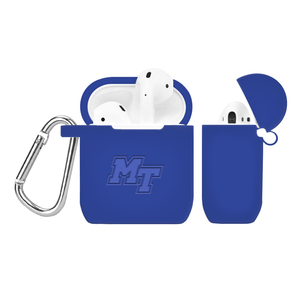 MT Logo Debossed Silicone Cover for AirPod Battery Case