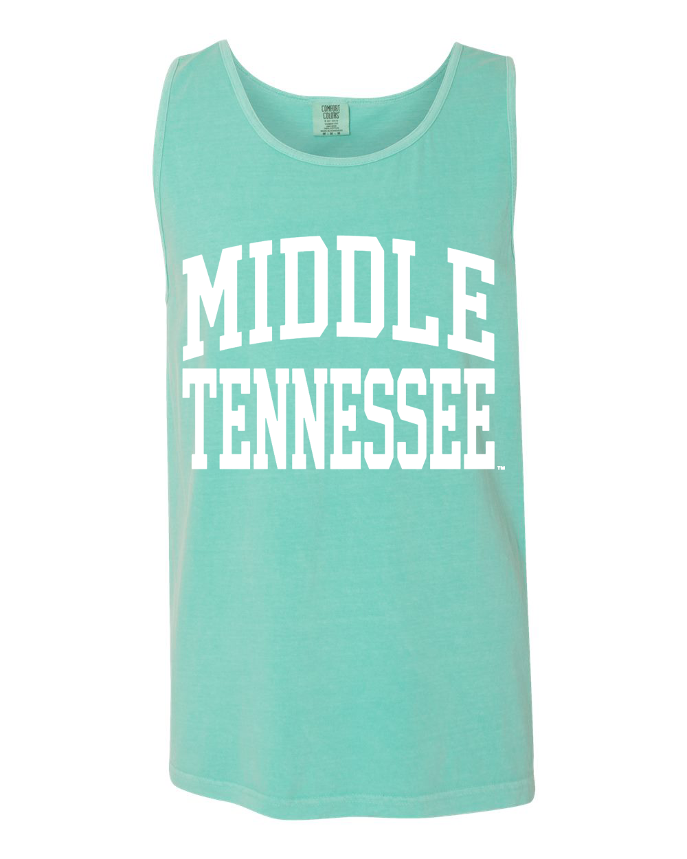 Middle Tennessee Arched Comfort Colors Tank