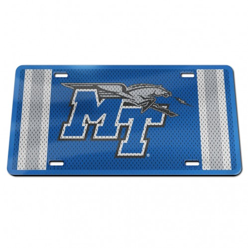MT Logo w/ Lightning Jersey License Plate
