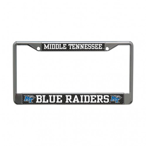 Middle Tennessee Blue Raiders License Plate Frame