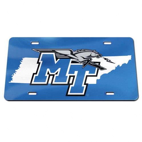 MT Logo w/ Lightning State License Plate
