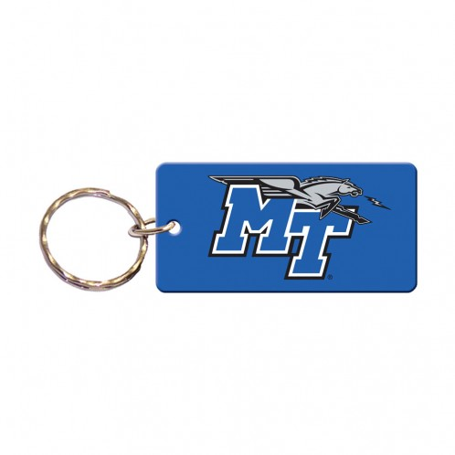 MT Logo w/ Lightning Rectangle Keychain