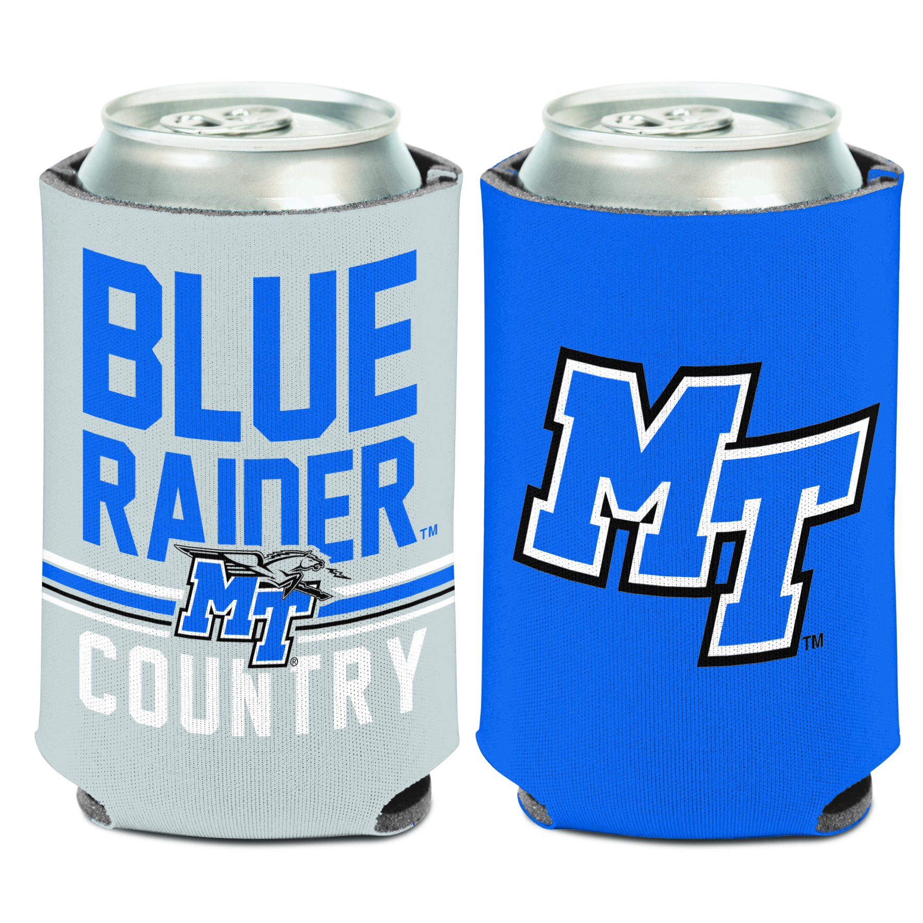 Blue Raider Country Can Coozie
