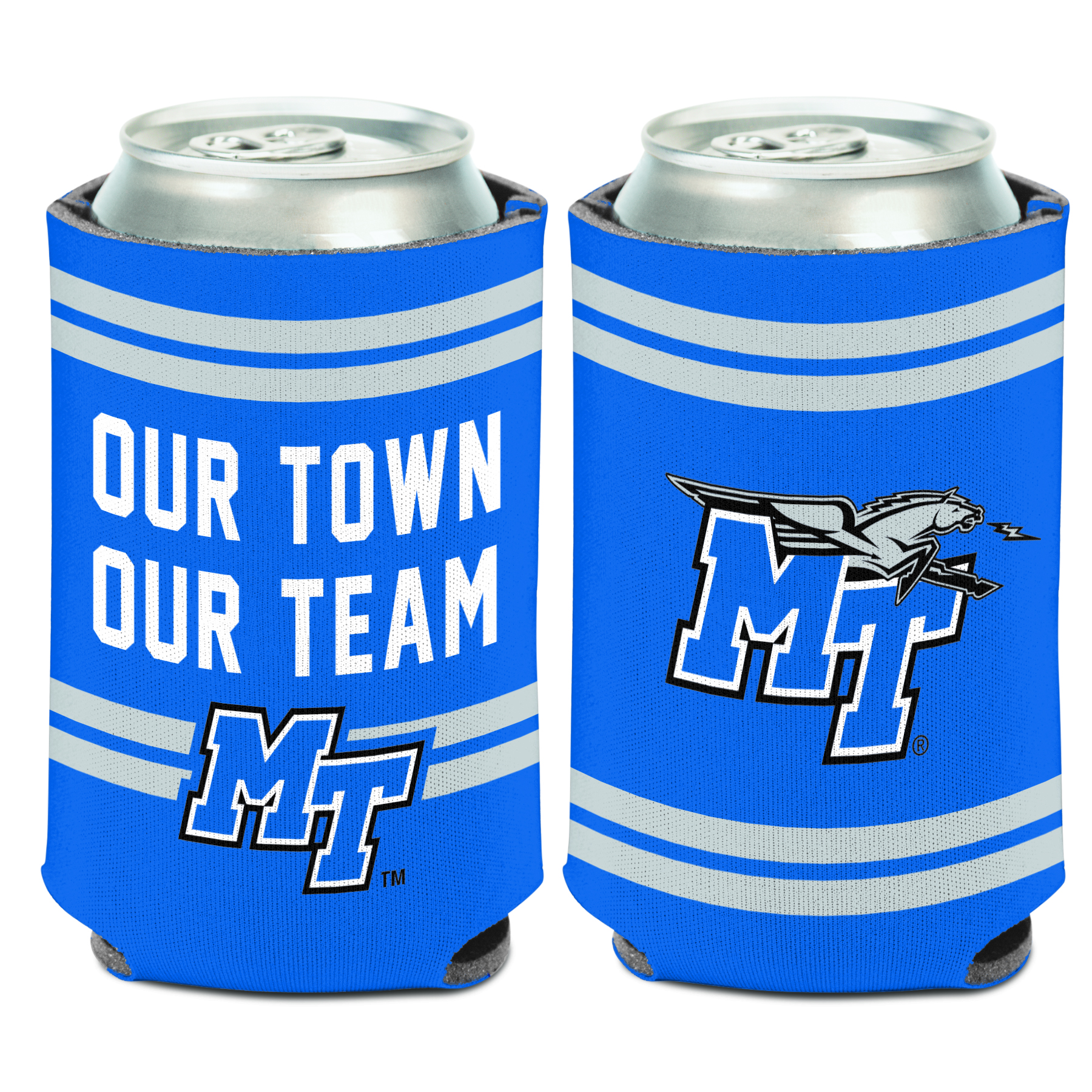 Our Town Our Team MT Can Coozie