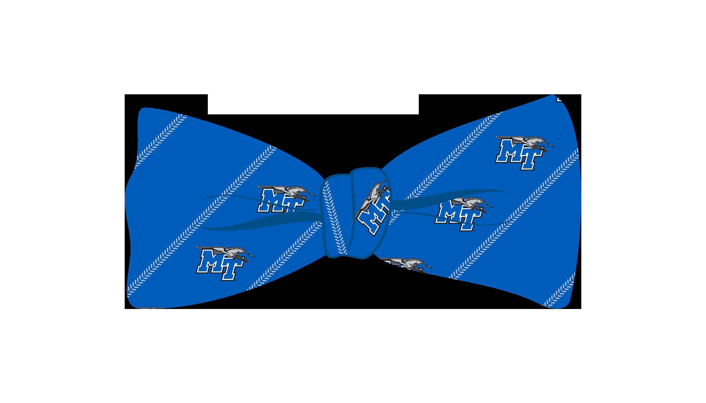 MT Logo w/ Lightning Woven Silk Bowtie