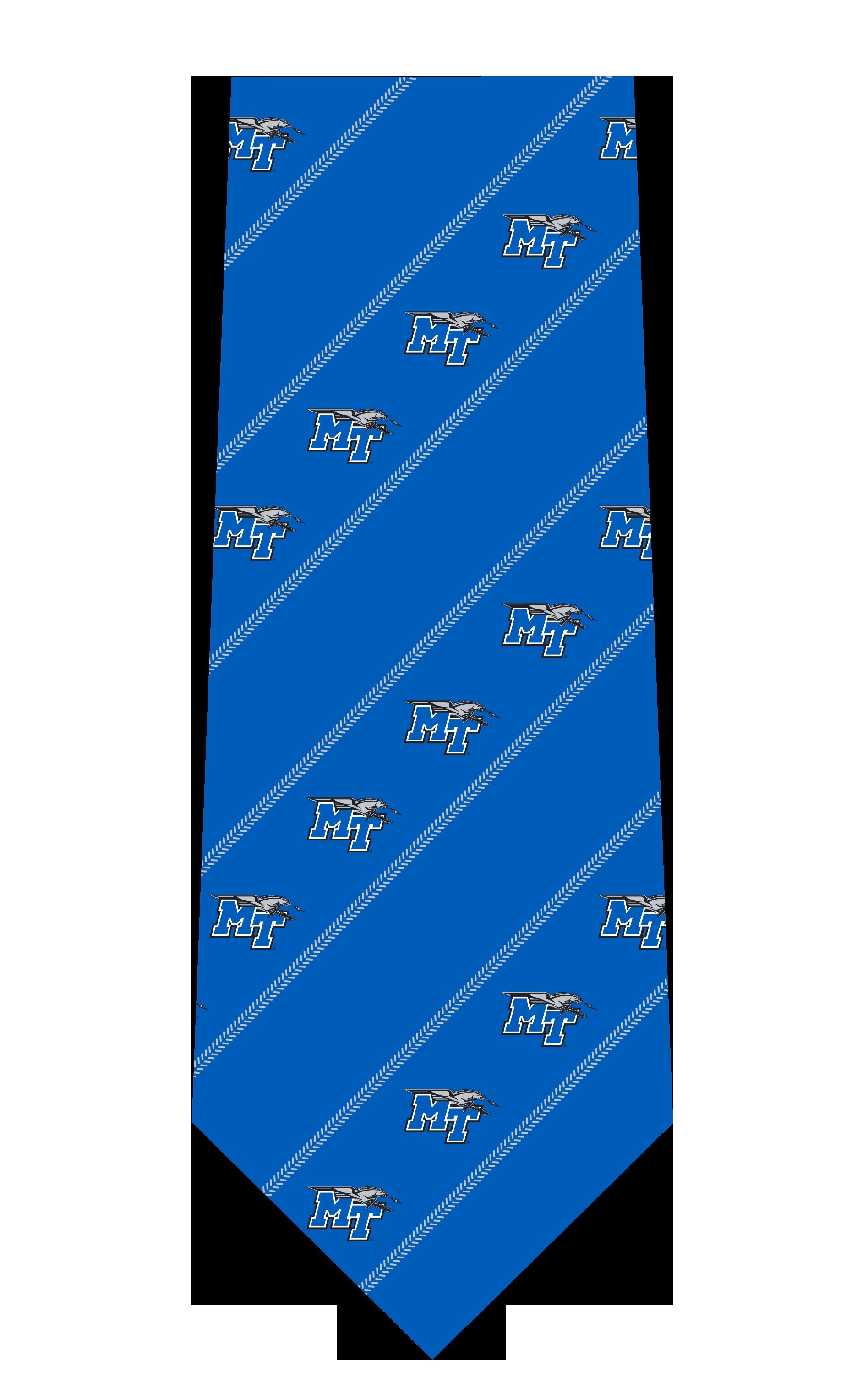 MT Logo w/ Lightning Woven Silk Tie