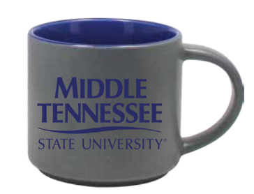 Middle Tennessee State University 16 oz. Matte Norwich Mug