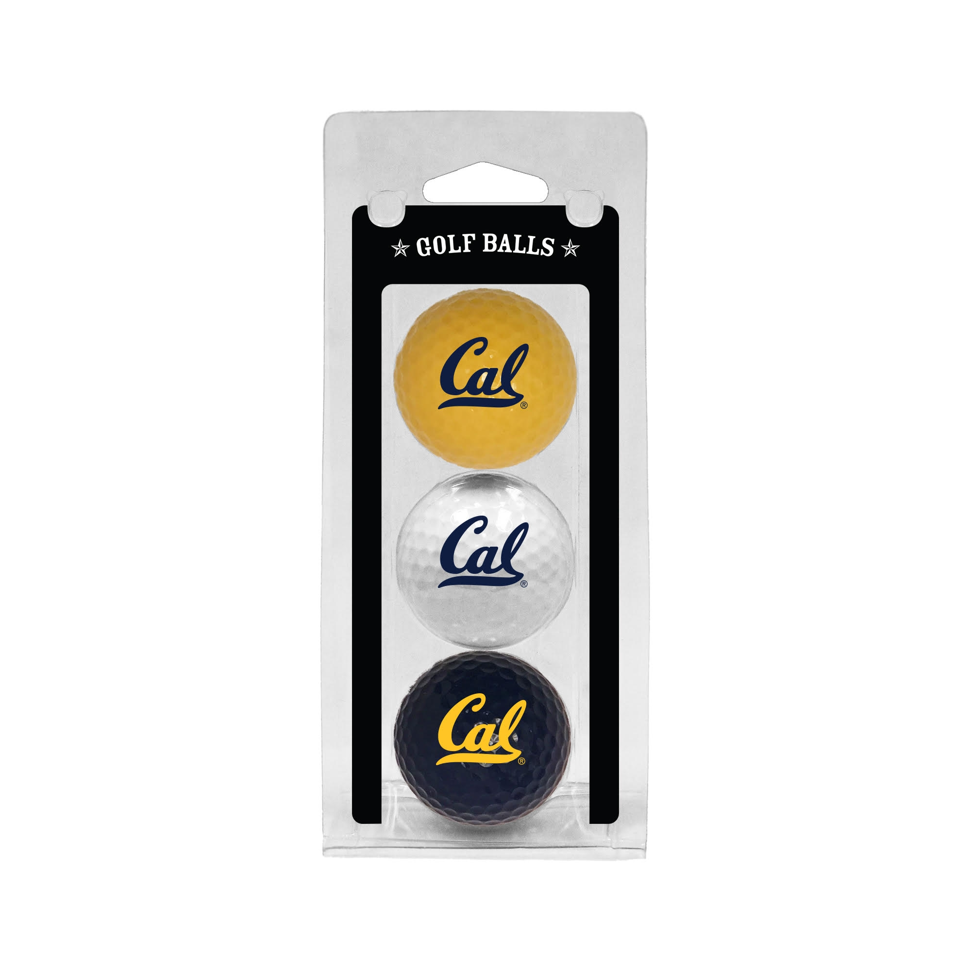 Cal Bears 3 Ball Clamshell by Team Golf