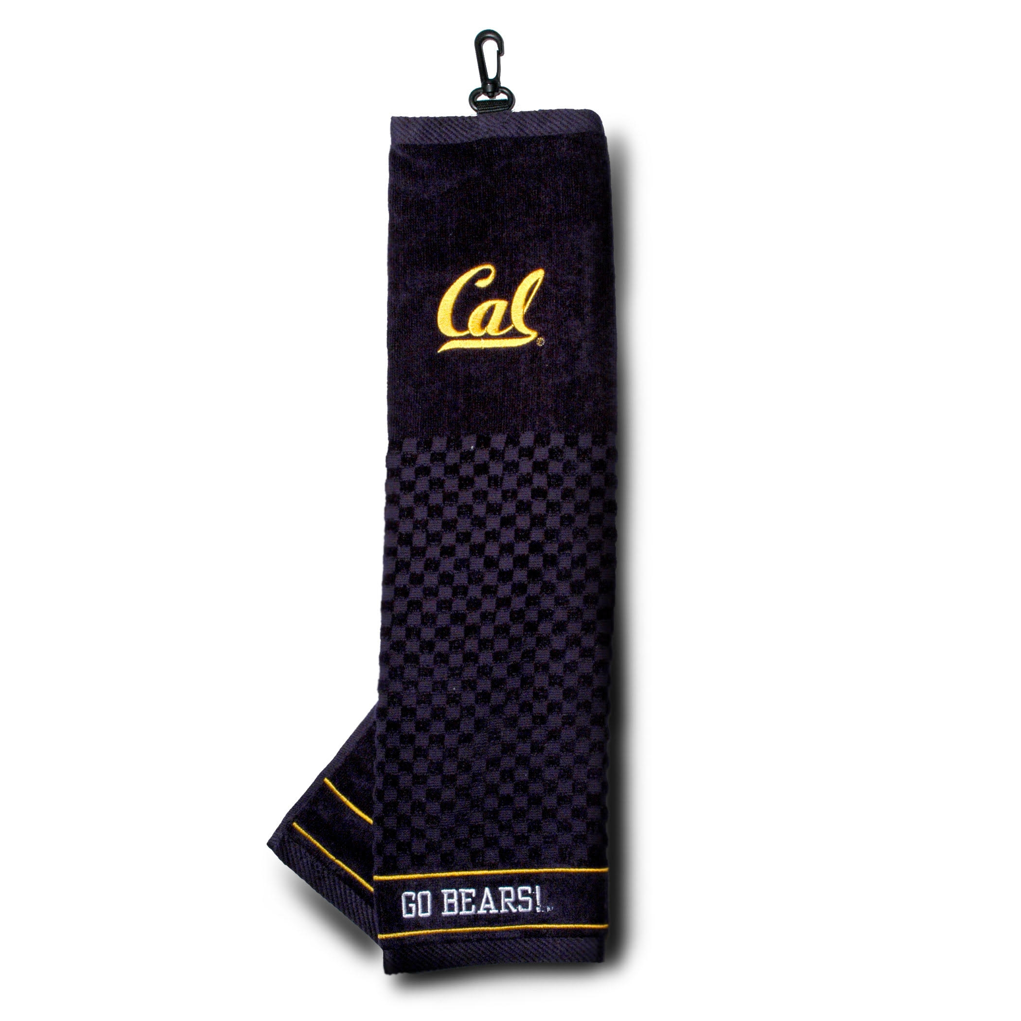 Cal Bears Embroidered Towel - Tri - Folded by Team Golf