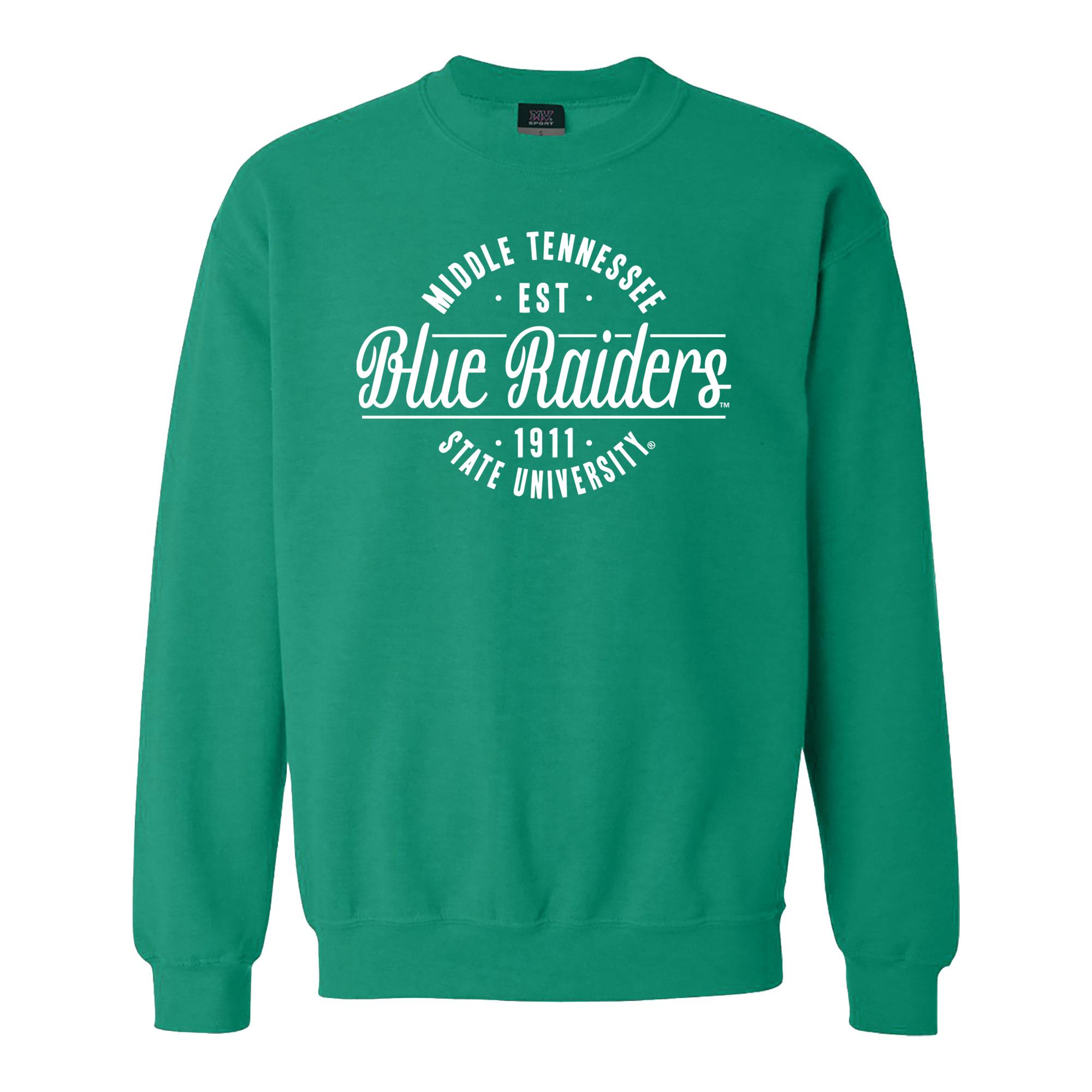 Middle Tennessee Blue Raiders Est. 1911 Comfort Fleece Sweatshirt