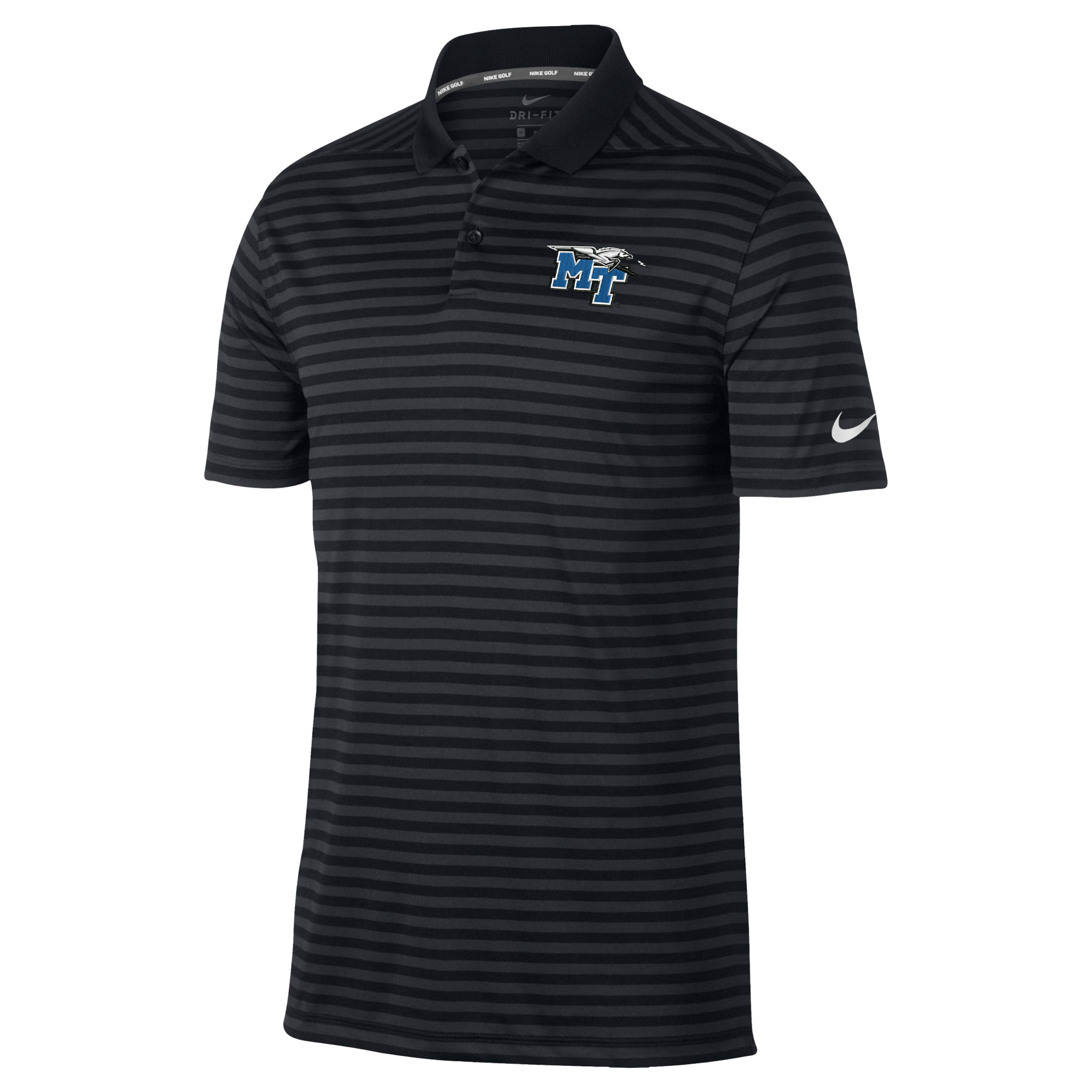 MT Logo w/ Lightning Victory Stripe 2.0 Nike® Polo