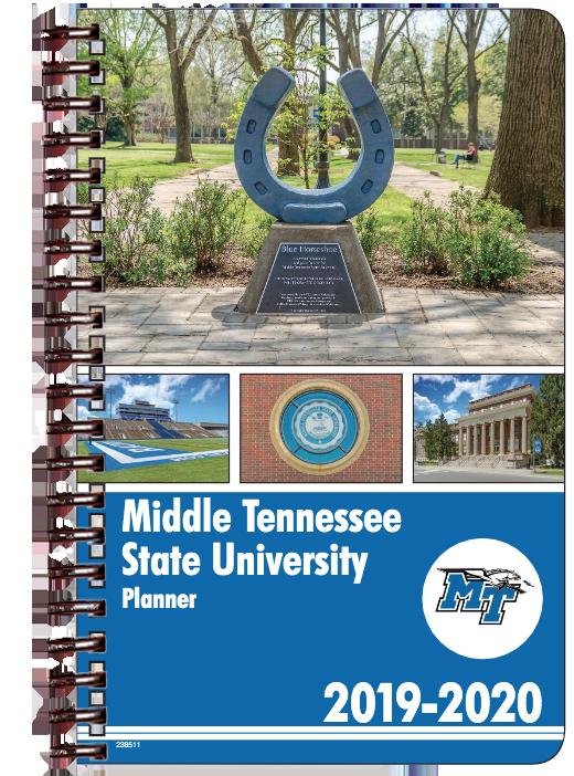 MTSU 2019-20 Student Planner
