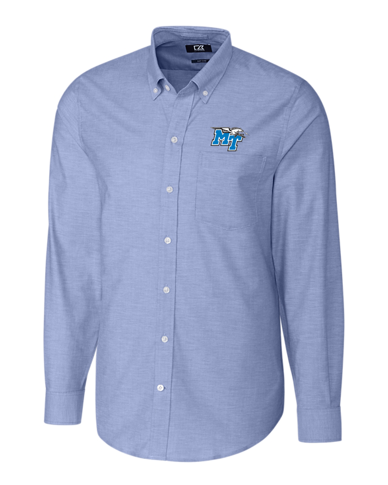 MT Logo w/ Lightning Stretch Oxford Button Down